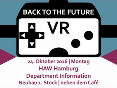 VR Flyer © HAW Hamburg